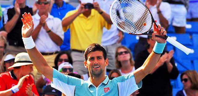 Djokovic a octavos de final en Cincinnati