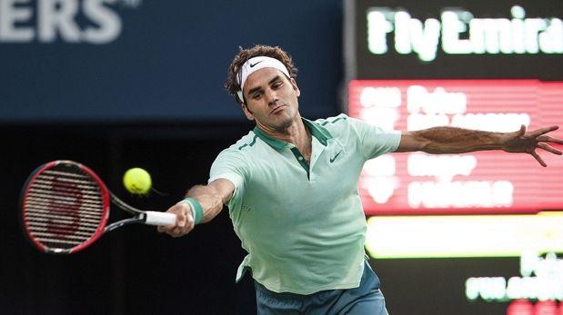 Federer inicia con clasificación a octavos en Masters de Canadá