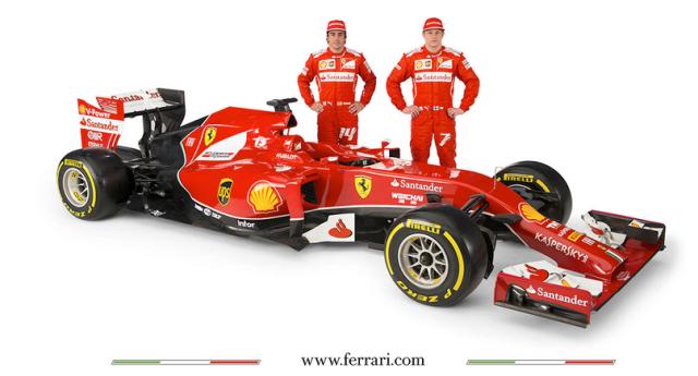 Fernando Alonso Kimi Raikkonen Ferrari
