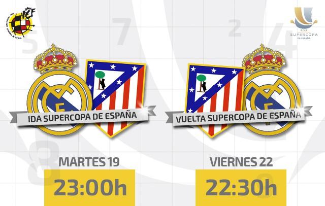Supercopa de España 2014: previa y horario del partido de vuelta entre Atlético y Real Madrid