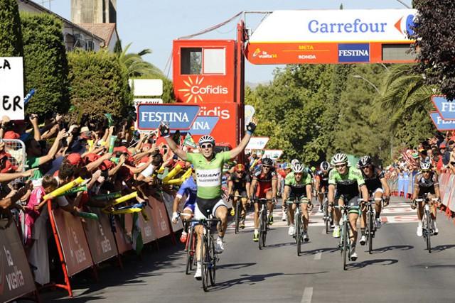 Degenkolb lleva dos victorias en la Vuelta 2014