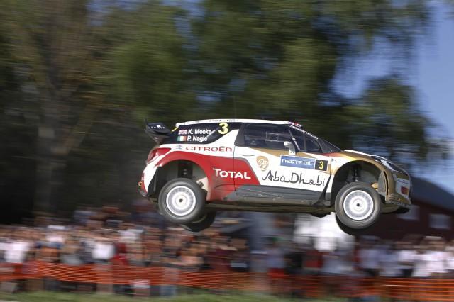 KRIS MEEKE (Citroën)-Rally Finlandia-Sábado