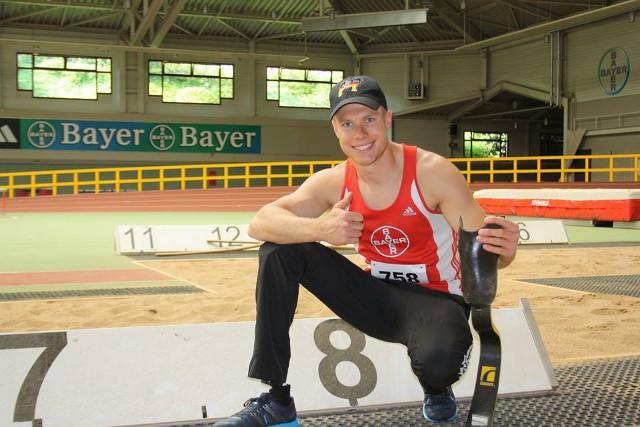 Rehm, un atleta paralímpico alemá que quiere competir de tú a tú con no discapacitados