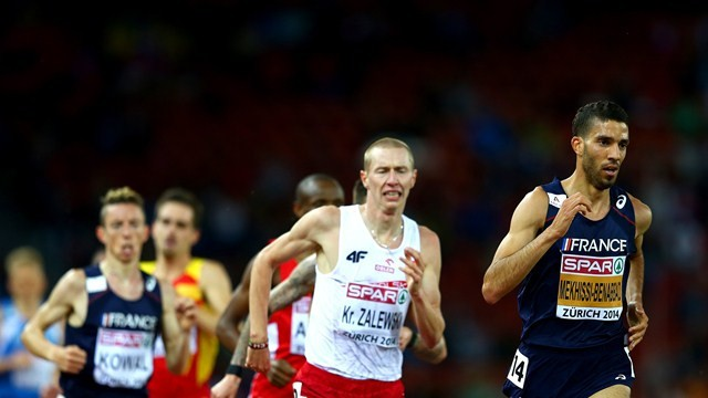 La descalificaicón de Mekhissi sirivió para que Mullera ganara el bronce