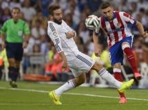 Supercopa de España 2014: empate a 1 gol en el Bernabeu