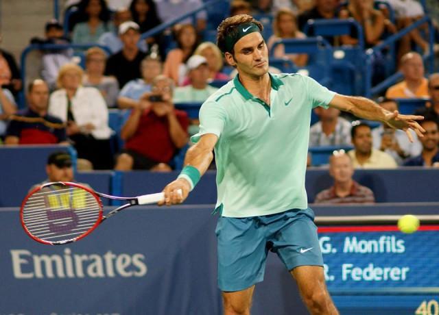 Roger Federer Masters Cincinnati