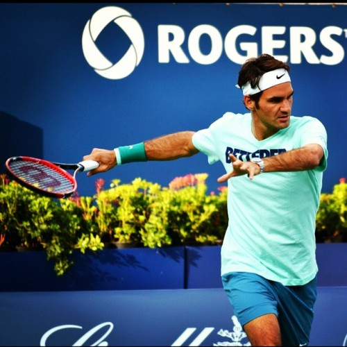 Roger Federer Toronto