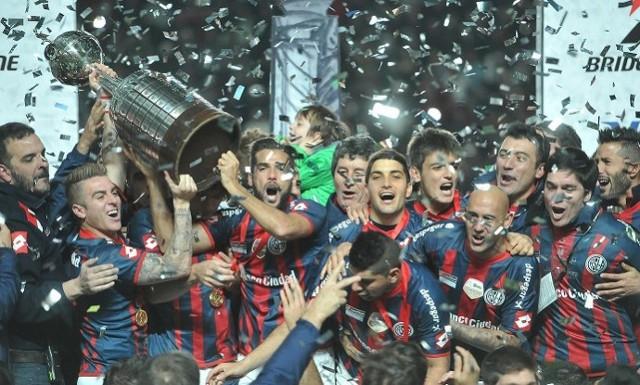 San Lorenzo conquista por primera vez su primera Copa Libertadores