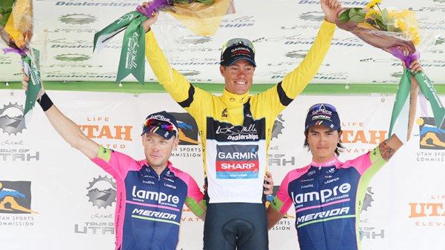 Danielson gana por segundo año consecutivo el Tour de Utah