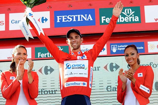 Matthews es el nuevo líder de la Vuelta a España