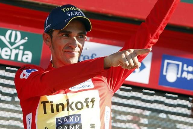 Contador ya es líder de la Vuelta 2014