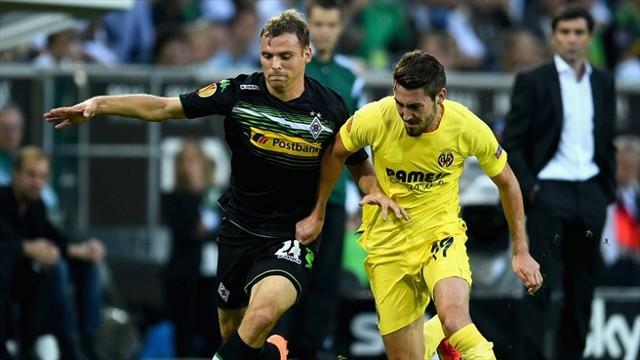 El Gladbch y el Villarreal empataron a 1 gol