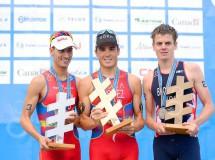 Javier Gómez Noya se proclamó Campeón del Mundo de Triatlón, Mario Mola subcampeón