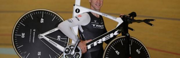 El ciclista alemán Jens Voigt bate el Récord de la Hora