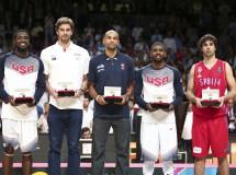 Mundobasket España 2014: Irving MVP y en el 'Quinteto Ideal' con Faried, Pau Gasol, Batum y Teodosic