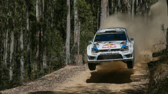 Sebastien Ogier en el Rally de Australia