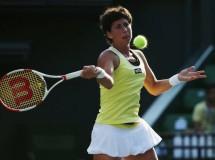 WTA Wuhan 2014: Muguruza y Suárez a segunda ronda, Radwanska e Ivanovic eliminadas