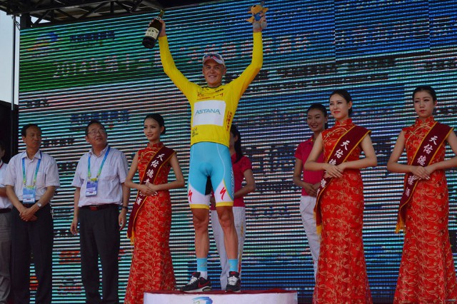Davidenok, tercer positivo del Astana en este año