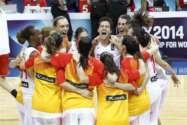 España llega por primera vez a la final de un Mundial de basket femenino