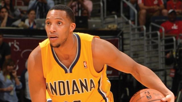 Evan Turner en su corta etapa como jugador de los Pacers