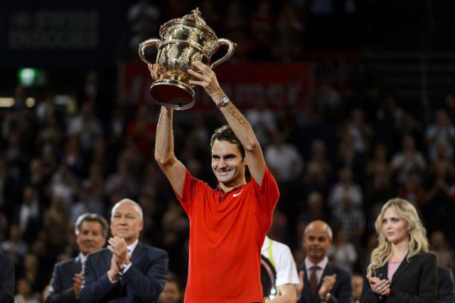 Federer campeona en Basilea por sexta vez