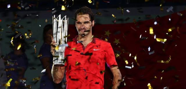 Federer campeona en Shanghai por primera vez