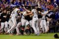 Los Giants de San Francisco ganan las Series Mundiales de beisbol de 2014