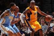 Bryant reaparece con los Lakers