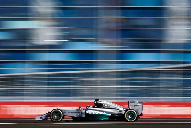 Lewis Hamilton en Sochi