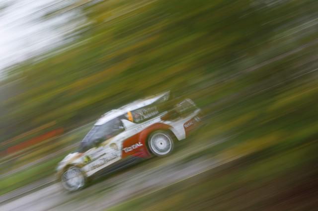 MADS OSTBERG (Citroën DS3 WRC)-Rally de Francia-Sábado