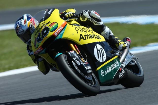 Maverick Viñales en el GP de Australia