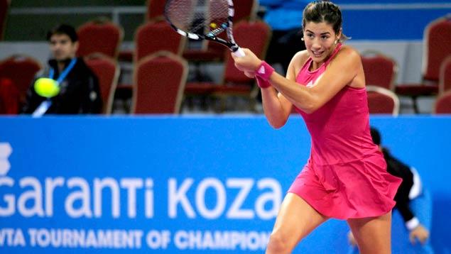 Muguruza a semifinales en Sofía