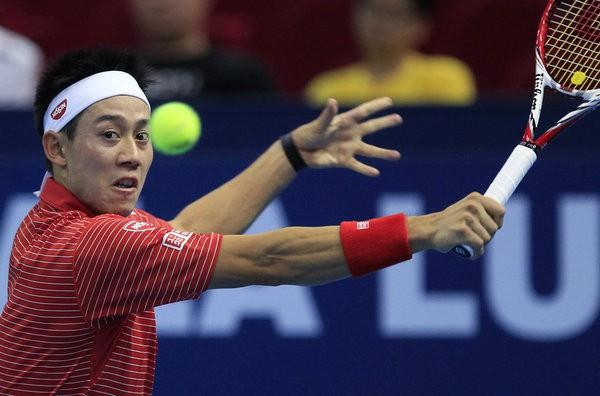Nishikori avanza a cuartos de final en Tokyo