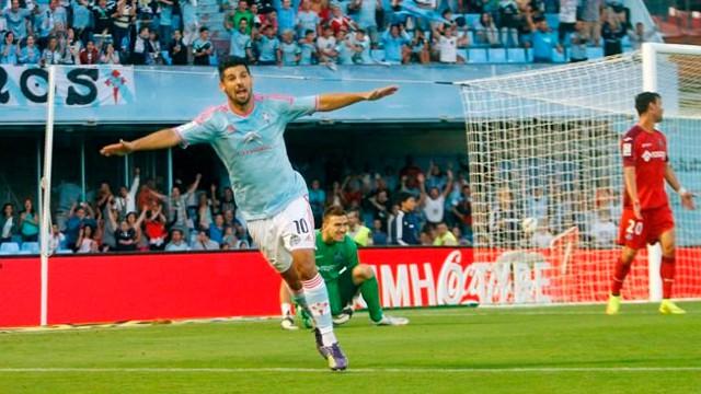 Nolito, delantero del Celta de Vigo