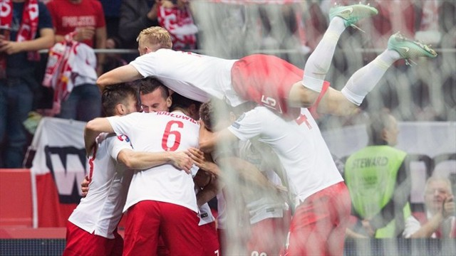 Polonia logró una victoria histórica ante Alemania