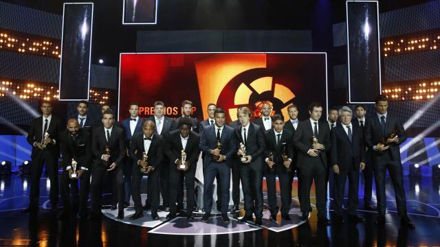 Ganadores de los premios LFP de la temporada 2013-2014