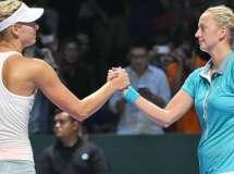 Finales WTA Singapur 2014: Kvitova, Wozniacki y Williams ganan, Sharapova eliminada
