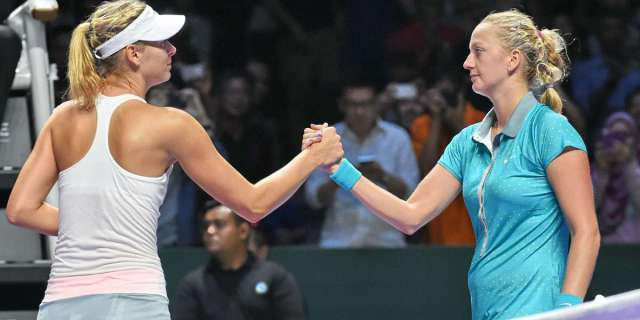 Sharapova eliminada en Singapur