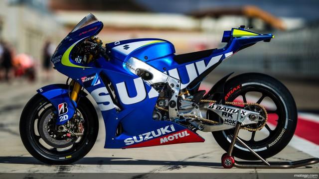 Suzuki vuelve al Mundial de MotoGP