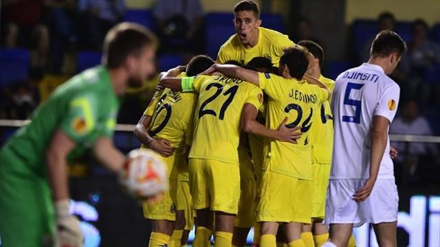 El Villarrreal camina con paso firme en la Europa League