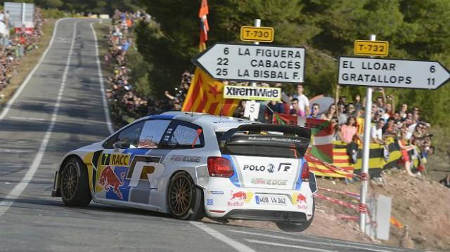 Volkswagen en el Rally de España