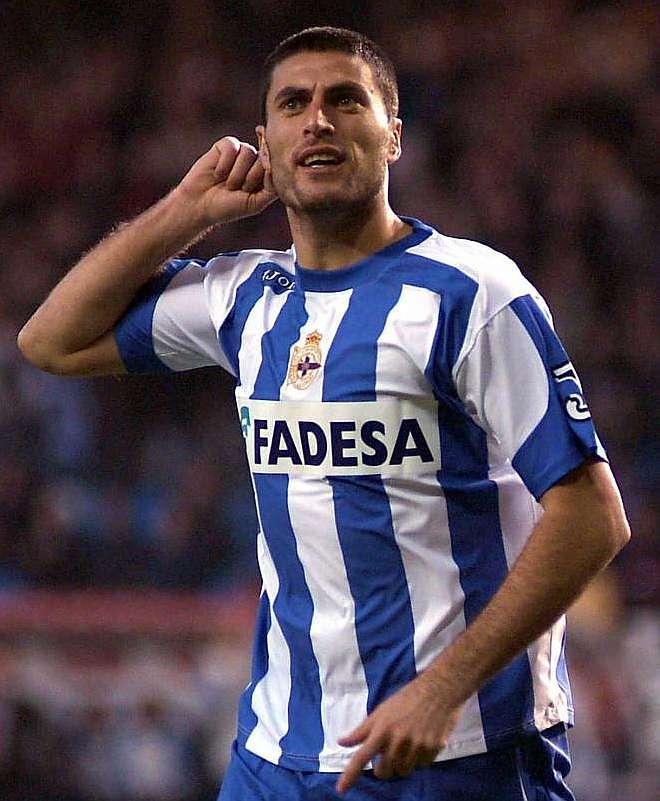 Diego Tristán en el Deportivo