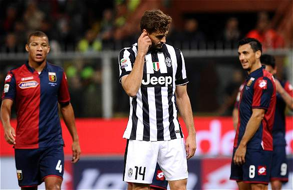 Primera derrota Juventus Serie A