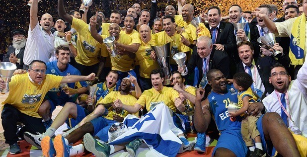 Maccabi, actual ganador Euroliga
