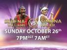 Finales WTA Singapur 2014: Williams y Halep definirán el título