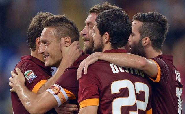 La Roma se coloca a un punto de la Juventus