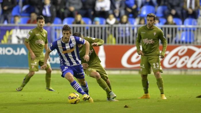 Alavés y Sporting son los reyes del empate
