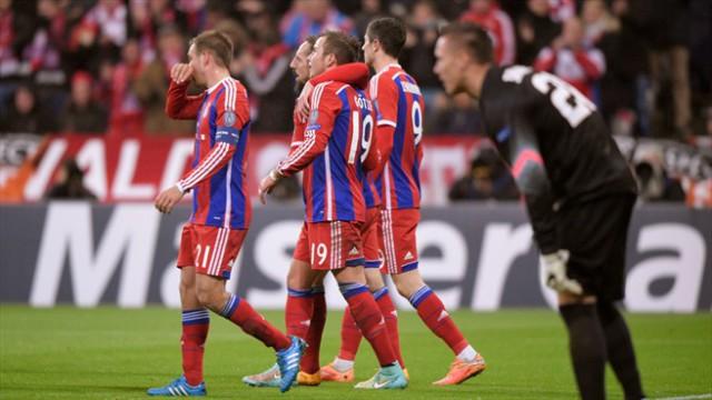 El Bayern de Guardiola estará en los octavos de final