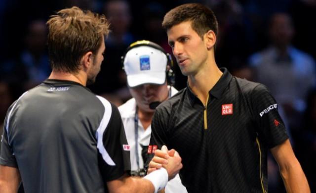 Djokovic derrota fácilmente a Wawrinka en Londre