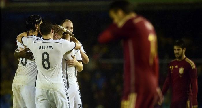 Alemania ganó en el amistoso ante España